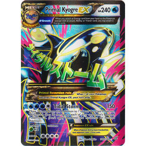 Primal Kyogre-EX (Full Art) - 149/160