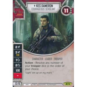 Kes Dameron - Courageous Sergeant
