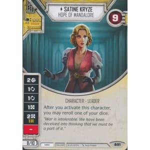 Satine Kryze - Hope of Mandalore