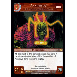 Annihilus - The Living Death That Walks