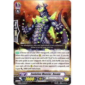 Evolution Monster, Davain