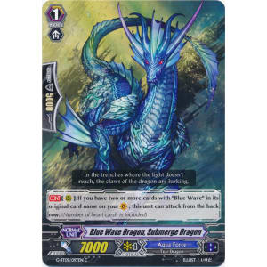 Blue Wave Dragon, Submerge Dragon