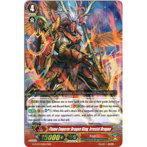 Flame Emperor Dragon King, Irresist Dragon