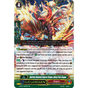 Supreme Heavenly Emperor Dragon, Defeat Flare Dragon