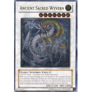 Ancient Sacred Wyvern (Ultimate Rare)