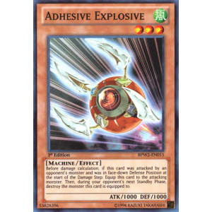 Adhesive Explosive