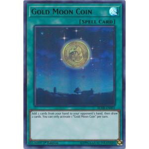 Gold Moon Coin