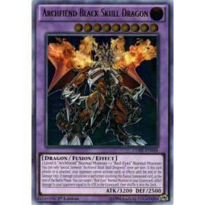 Archfiend Black Skull Dragon (Ultimate Rare)
