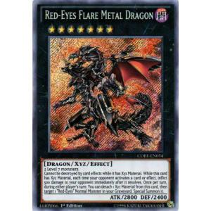Red-Eyes Flare Metal Dragon (Secret Rare)
