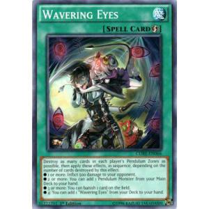 Wavering Eyes