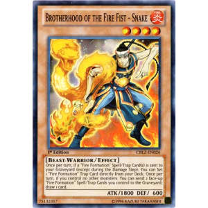 Brotherhood of the Fire Fist - Snake