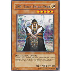 D.D.M. - Different Dimension Master (Rare)