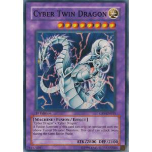 Cyber Twin Dragon (Super Rare)