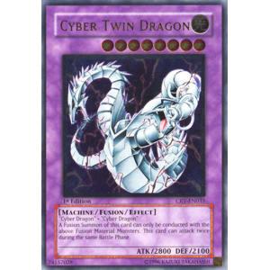 Cyber Twin Dragon (Ultimate Rare)