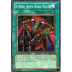 A Deal with Dark Ruler