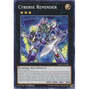 Cyberse Reminder