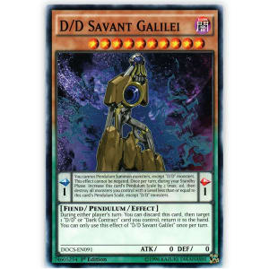 D/D Savant Galilei