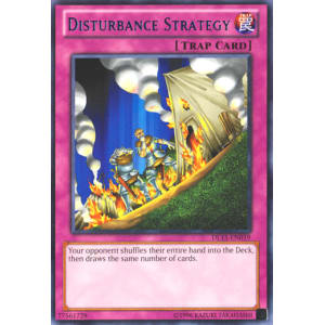 Disturbance Strategy (Blue)