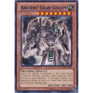 Ancient Gear Golem (Blue)
