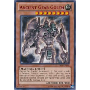 Ancient Gear Golem (Red)
