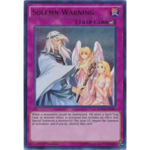 Solemn Warning