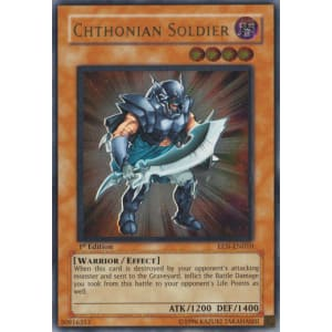 Chthonian Soldier (Ultimate Rare)
