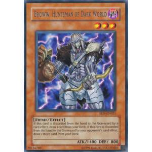 Broww, Huntsman of Dark World (Rare)