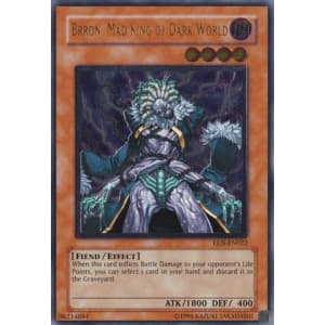Brron, Mad King of Dark World (Ultimate Rare)