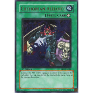 Chthonian Alliance (Ultimate Rare)