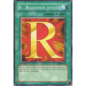 R - Righteous Justice