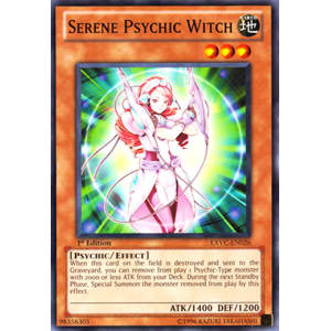 Serene Psychic Witch