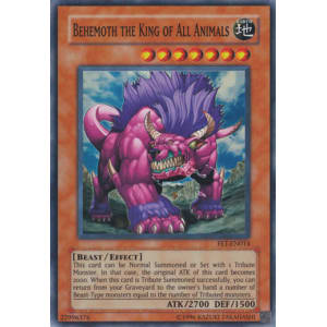 Behemoth the King of All Animals (Super Rare)