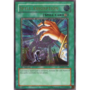 Spell Absorption (Ultimate Rare)