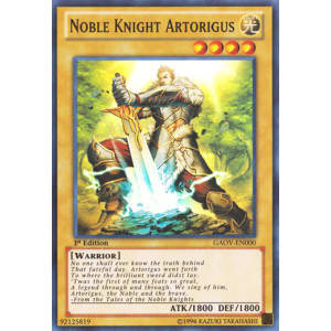 Noble Knight Artorigus (Super Rare)