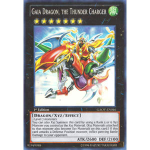 Gaia Dragon, the Thunder Charger