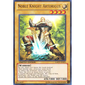 Noble Knight Artorigus (Ultra Rare)