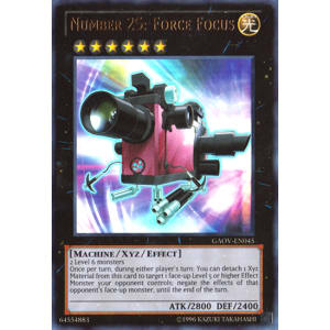 Number 25: Force Focus (Ultra Rare)