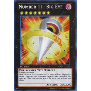 Number 11: Big Eye