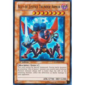 Ally of Justice Thunder Armor