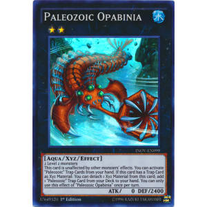 Paleozoic Opabinia