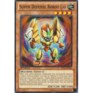 Super Defense Robot Lio