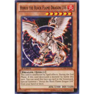 Horus the Black Flame Dragon LV6