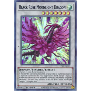 Black Rose Moonlight Dragon (Purple)