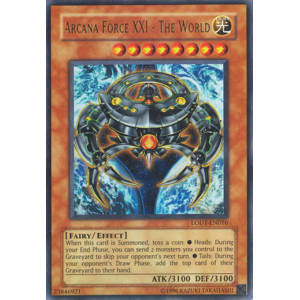 Arcana Force XXI - The World (Ultra Rare)