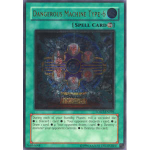 Dangerous Machine Type-6 (Ultimate Rare)