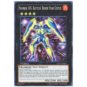 Number 105: Battlin' Boxer Star Cestus