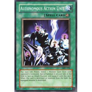 Autonomous Action Unit