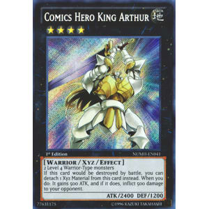 Comics Hero King Arthur