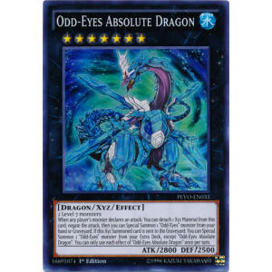 Odd-Eyes Absolute Dragon