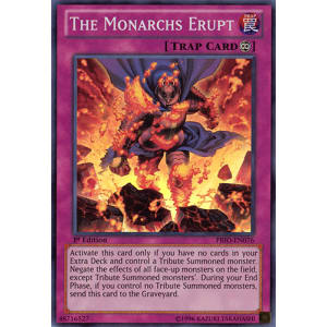 The Monarchs Erupt